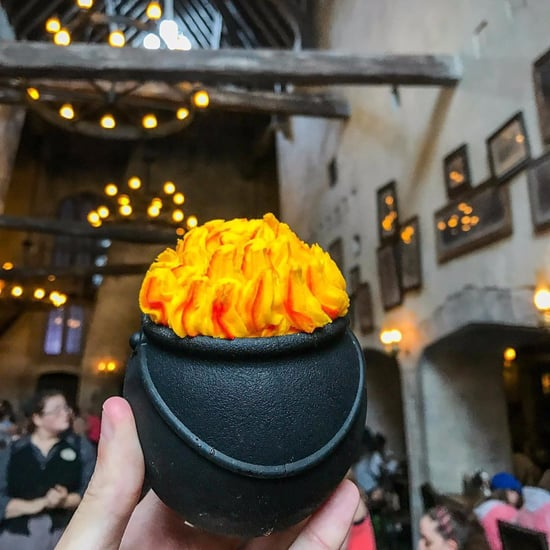 Cauldron Cakes at Wizarding World of Harry Potter