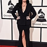 Demi Lovato at the Grammys