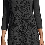 Neiman Marcus Floral-Print Sweater Dress ($65)
