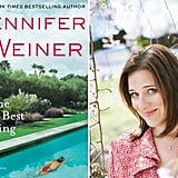 Jennifer Weiner on Chick Lit and The Next Best Thing  Jennifer Weiner has had multiple dream jobs, and there's no sign she's waking up anytime soon. She's an author with multiple best sellers, had her book In Her Shoes turned into a movie starring Cameron Diaz and Shirley MacLaine, and created and ran a TV series, State of Georgia, on ABC Family. And in her free time, she shares her thoughts on women and publishing and live tweets The Bachelorette. For her latest novel, The Next Best Thing, about a twentysomething woman who moves to LA to try to make it in TV writing, Jennifer draws on her experience as a television showrunner.