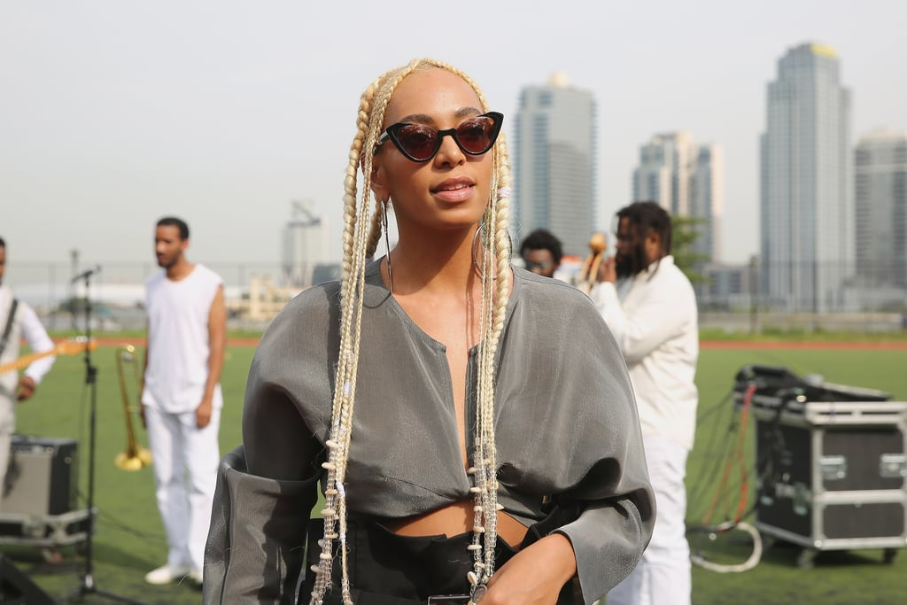 Solange With Platinum Blonde Hair September 2017 | Solange ...