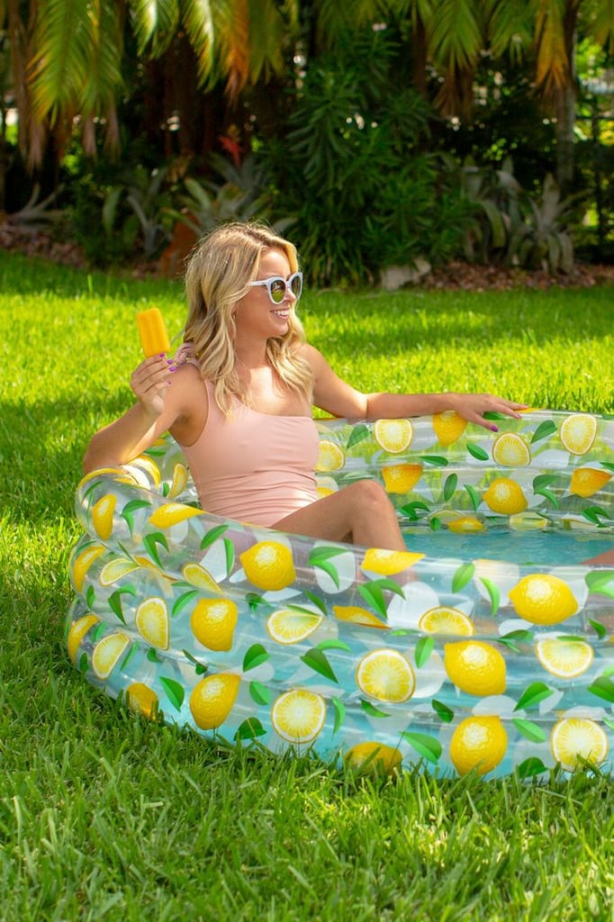 Lemon Mini Inflatable Pool