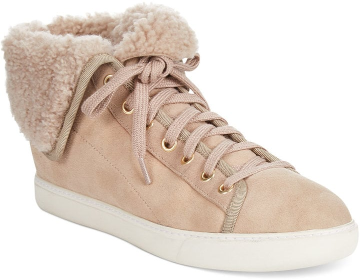 Cole Haan Raven High-Top Shearling Sneakers ($298)