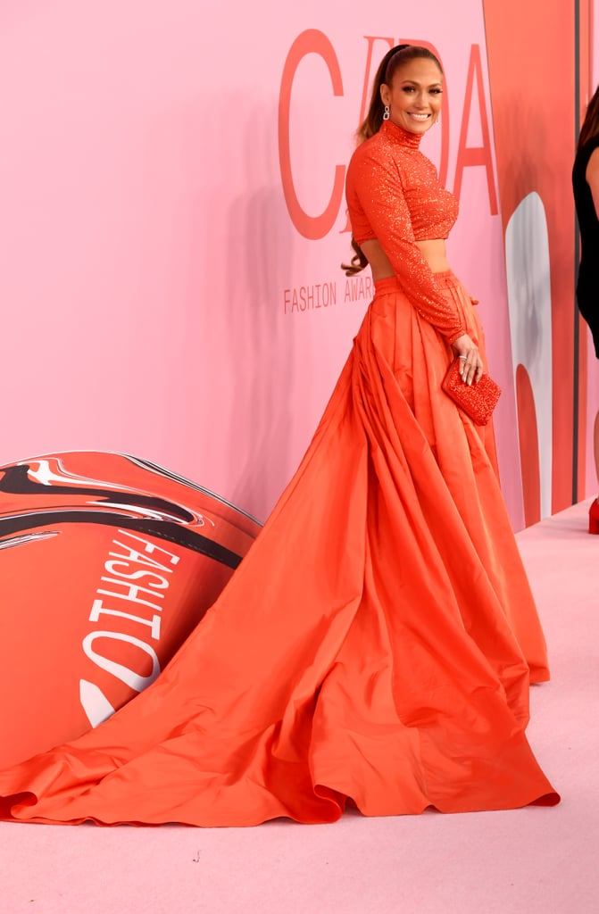 Jennifer Lopez Wearing Ralph Lauren to the 2019 CFDA Fashion Awards