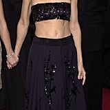 Who else could pull off a beaded bandeau at the SAG Awards?! (2001)