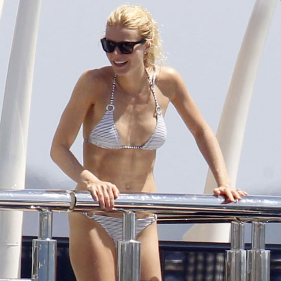 Gwyneth Paltrow Bikini Pictures With Apple and Moses