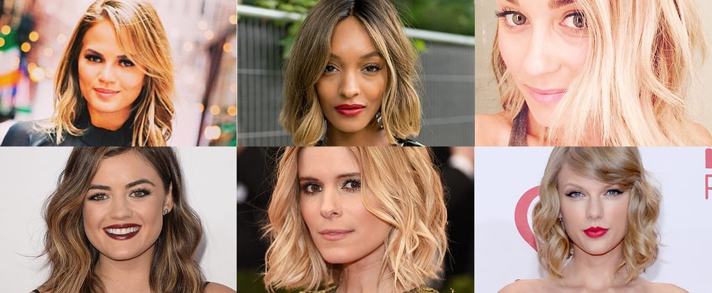Best Celebrity Looks With Short Wavy Hair 2014
