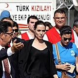 Angelina Jolie Takes Her Goodwill to Turkey