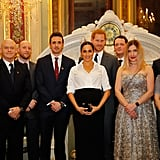 Prince Harry and Meghan Markle at Endeavour Awards Feb. 2019
