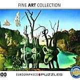 Eurographics Salvador Dali Swans Reflecting Elephants 1000 Piece Jigsaw Puzzle