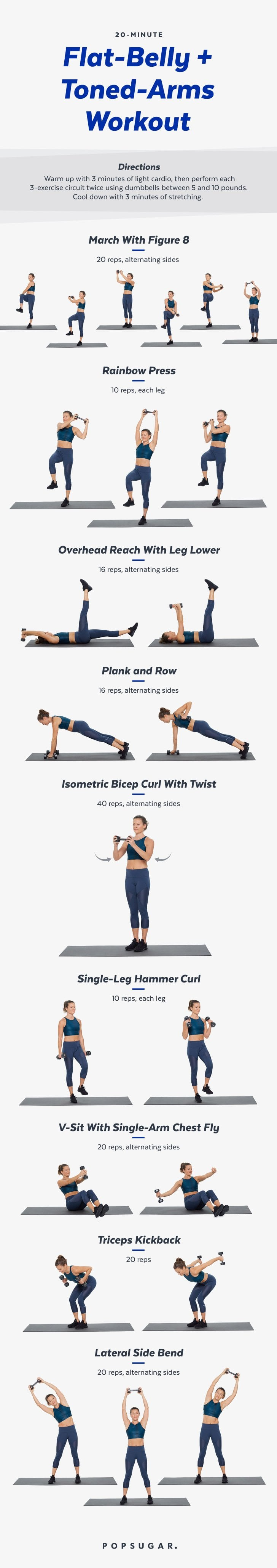 Add Some Weights to Your Arms and Abs Workout