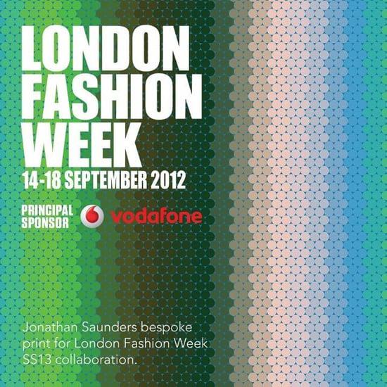 Jonathan Saunders' London Fashion Week Collaboration Print
