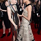 Pictured: Thandie Newton, Michelle Williams