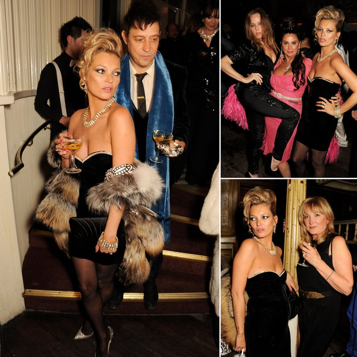 Kate Moss Schools 20-Somethings in the Art of Partying '80s-Style