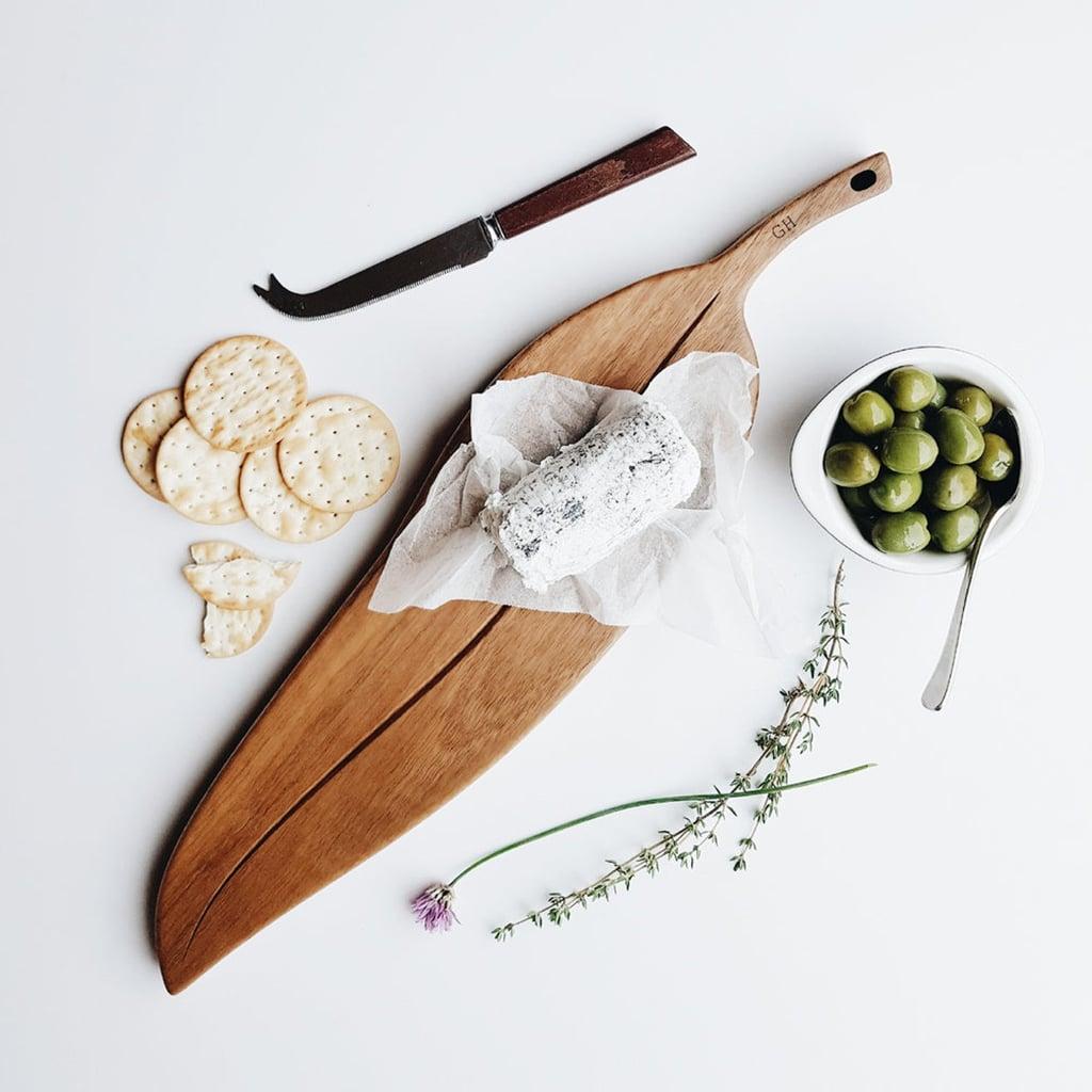 The Perfect Hostess Gift: Personalised Gumleaf Australian Hardwood Serving Board