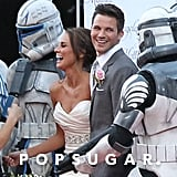 Matt Lanter and Angela Stacy Wedding Pictures