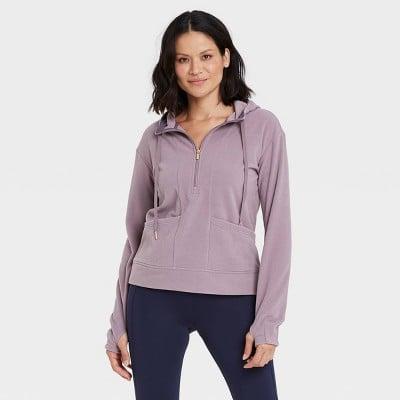 Microfleece Pullover Sweatshirt