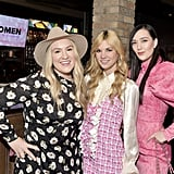 Mozella, Amy Allen, and Madison Love at the 2020 Women in Harmony Brunch in LA