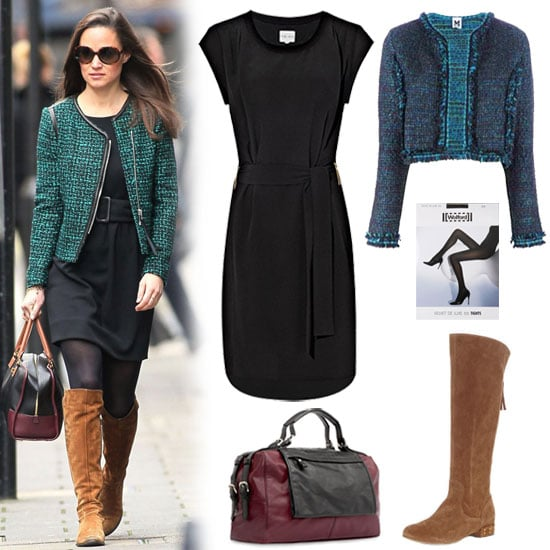 Pippa Middleton Tweed Jacket Outfit | Nov. 26, 2012