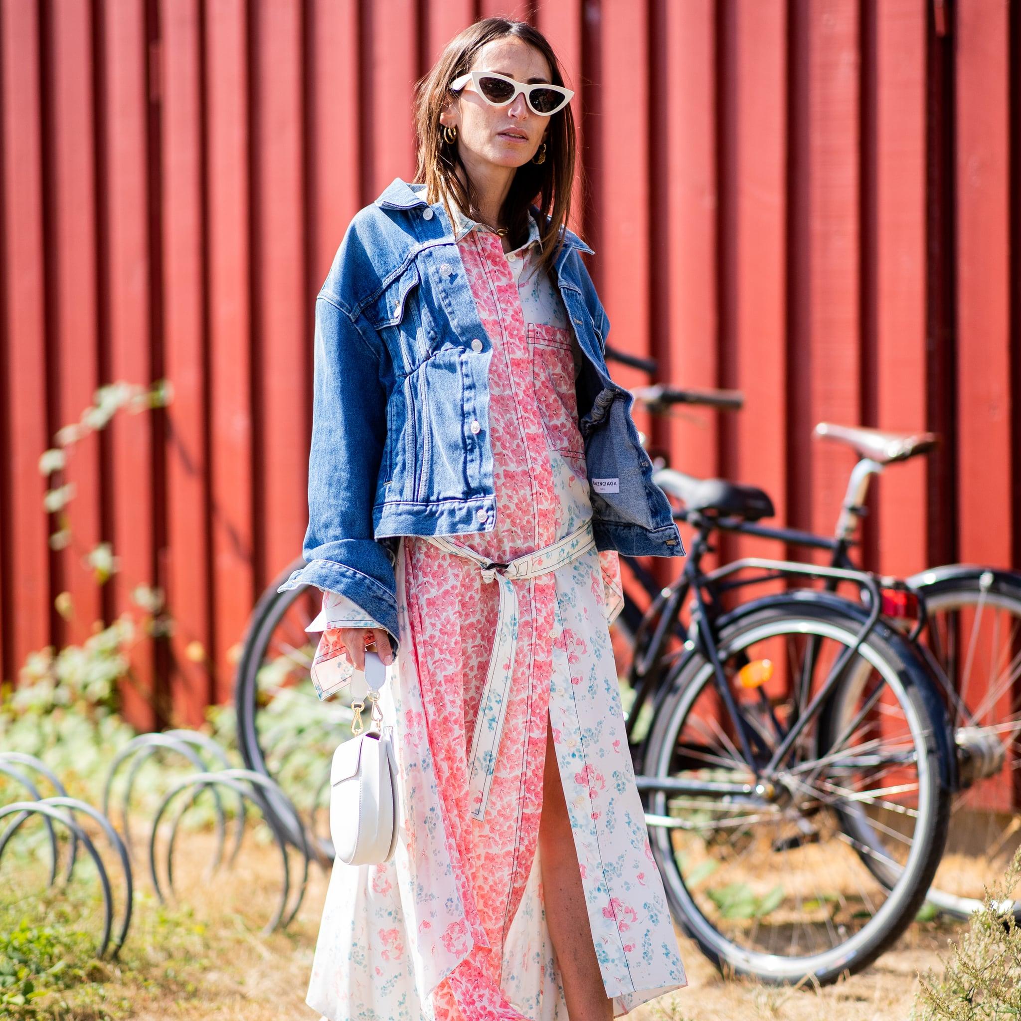 Denim Jacket Outfit Ideas For Spring and Summer  POPSUGAR Fashion