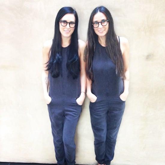 Demi Moore and Rumer Willis Instagram Pictures