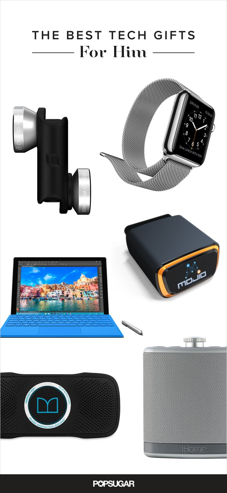 Technology gadgets 28 unexpected high tech gifts for for Best new tech gifts