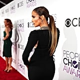 Jennifer Lopez's Hair at the 2017 People's Choice Awards