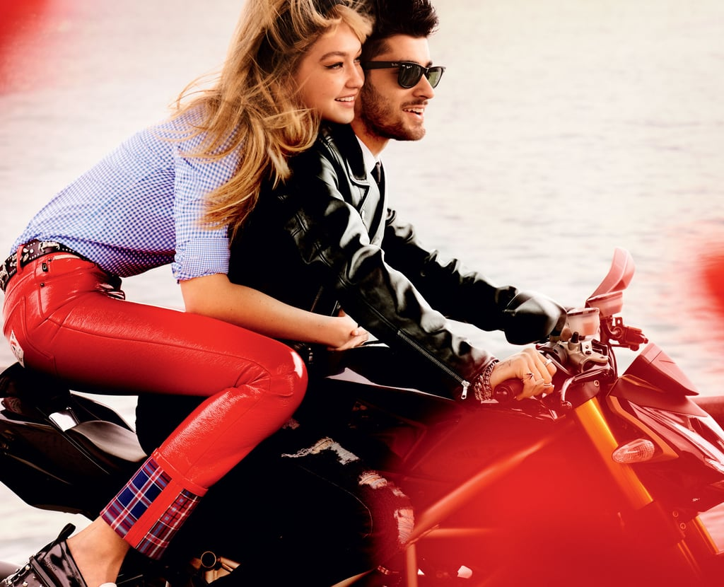 OK, we get it: Gigi Hadid and Zayn Malik are really ridiculously photogenic — and stylish — together. The duo has worked on their latest collaboration, a brand-new spread in the May issue of Vogue, which hits newsstands on April 26.  Two shots provided by the magazine show the couple on a gorgeous tour through the southern Italian city of Naples, with Gigi clad in a variety of chic looks from designers including Victoria Beckham, Miu Miu, and Marc Jacobs. The images, shot by Mario Testino, manage to combine the vibrancy of Naples with the obvious chemistry between Gigi and Zayn.  It's a little much to handle all at once, so we'll understand if you need to take a break to finish looking at all the pictures once you watch the BTS video. But whenever you get around to digesting it all, you'll certainly agree that Gigi and Zayn are among the most stylish couples around.