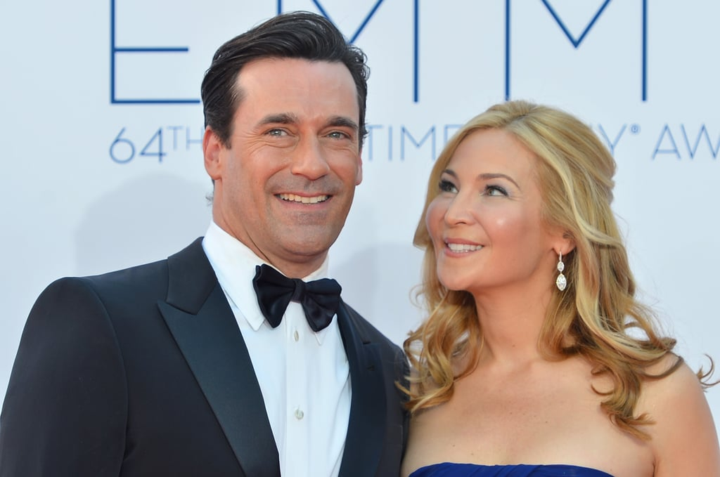Jennifer Westfeldt and Jon Hamm