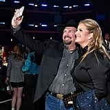 Pictured: Garth Brooks and Trisha Yearwood
