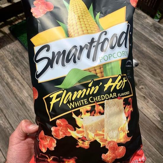 Smartfood Flamin' Hot White Cheddar Popcorn