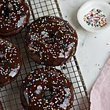 Double-Chocolate Baked Cake Doughnuts