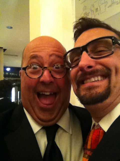 Andrew Zimmern Making a Face