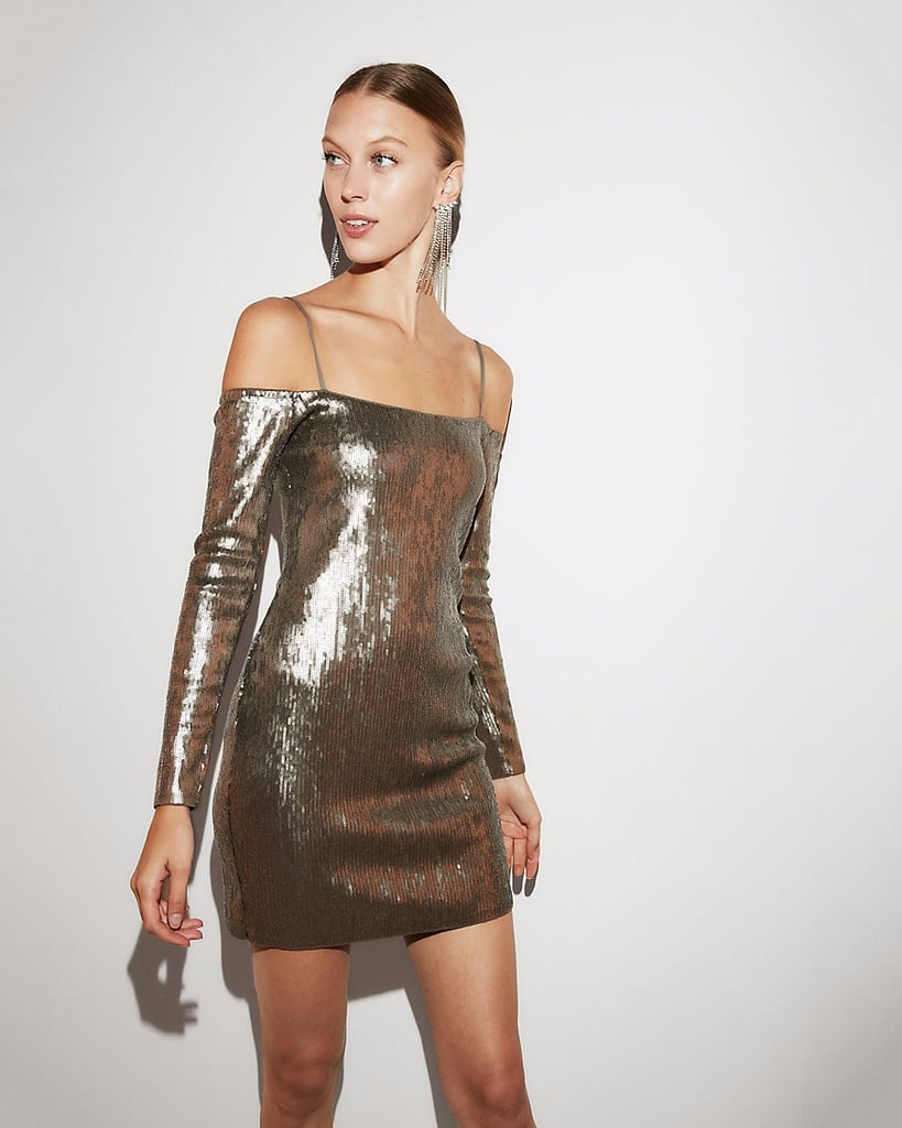 Shiny Sequin Dress