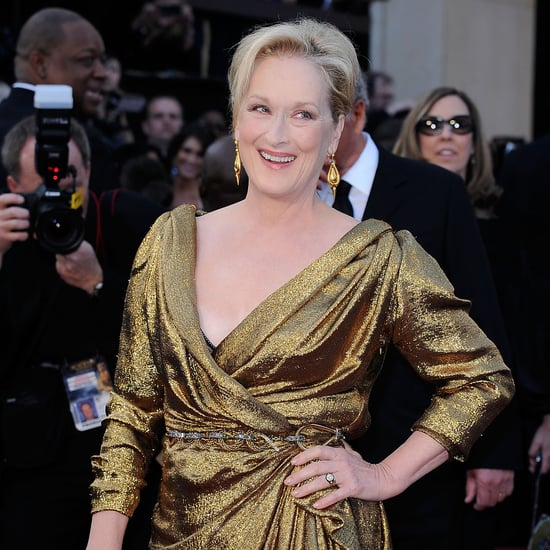 Pictures of Meryl Streep at the Oscars