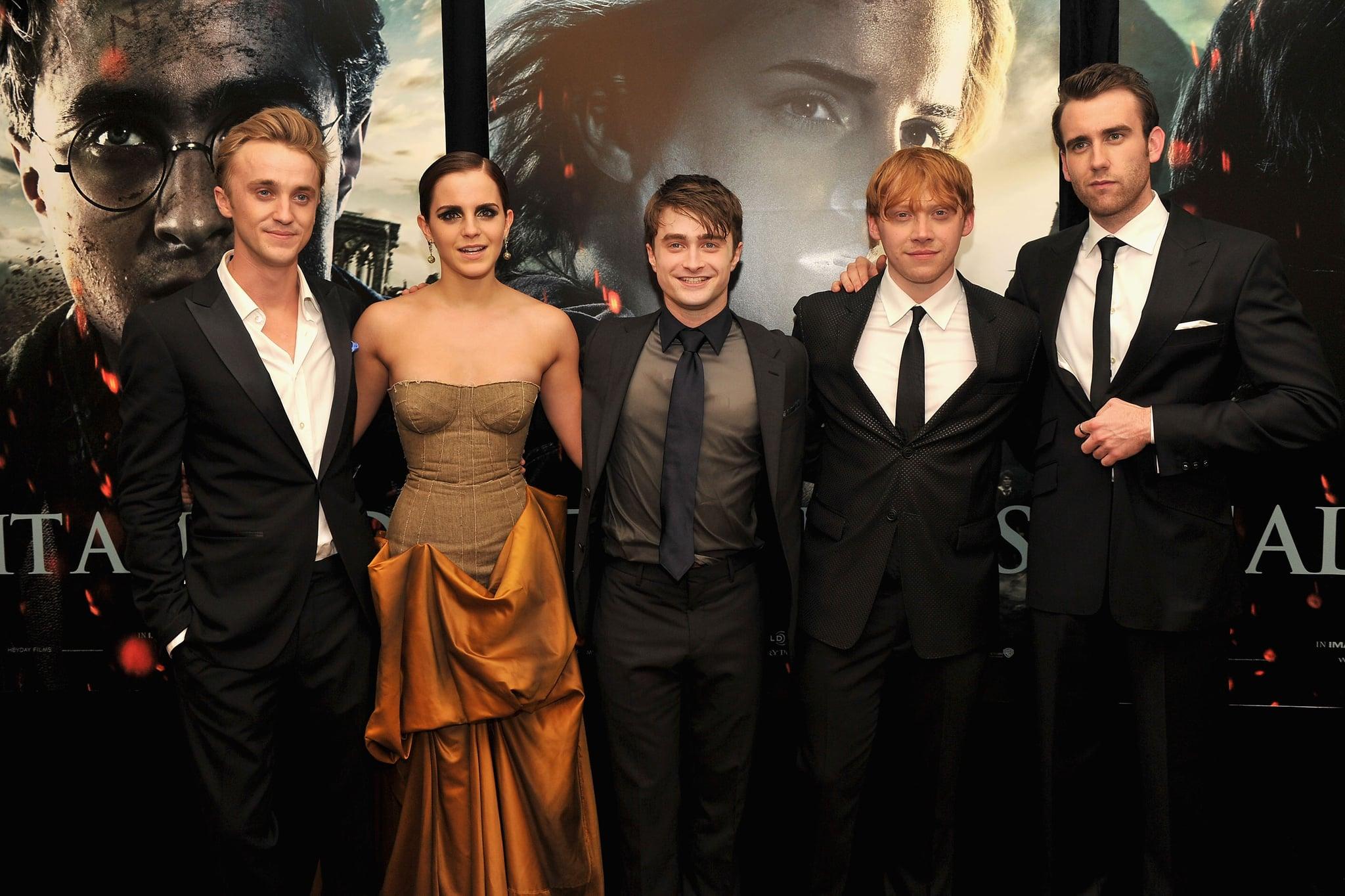 Emma Watson And Tom Felton Photos Popsugar Celebrity Uk
