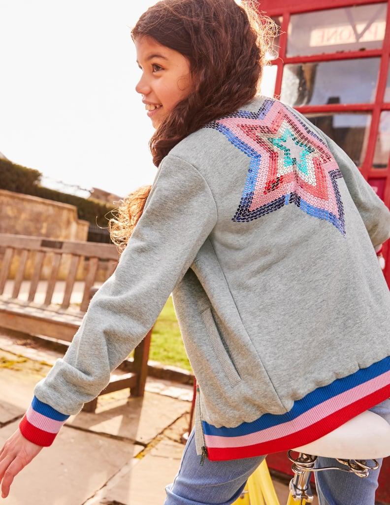 Mini Boden Star Bomber Jacket Fall Jackets For Kids 2018