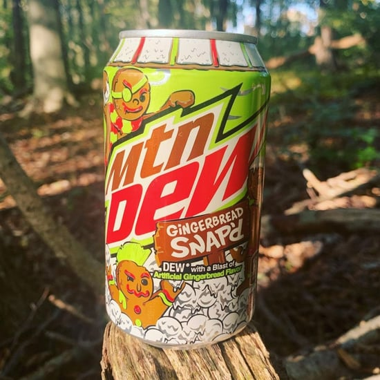 Mountain Dew Has a New Gingerbread Snap'd Flavor