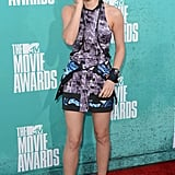 Emma in a Brood dress at the MTV Movie Awards in 2012.