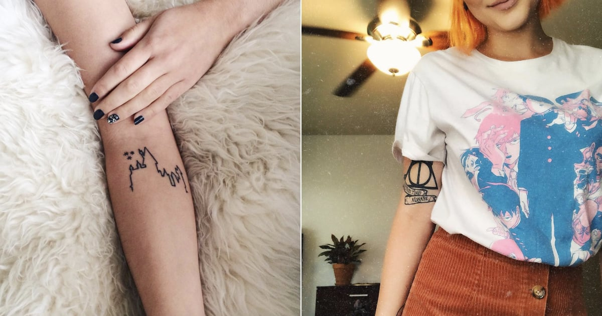 100+ Magical Harry Potter Tattoos For Ultra Fans