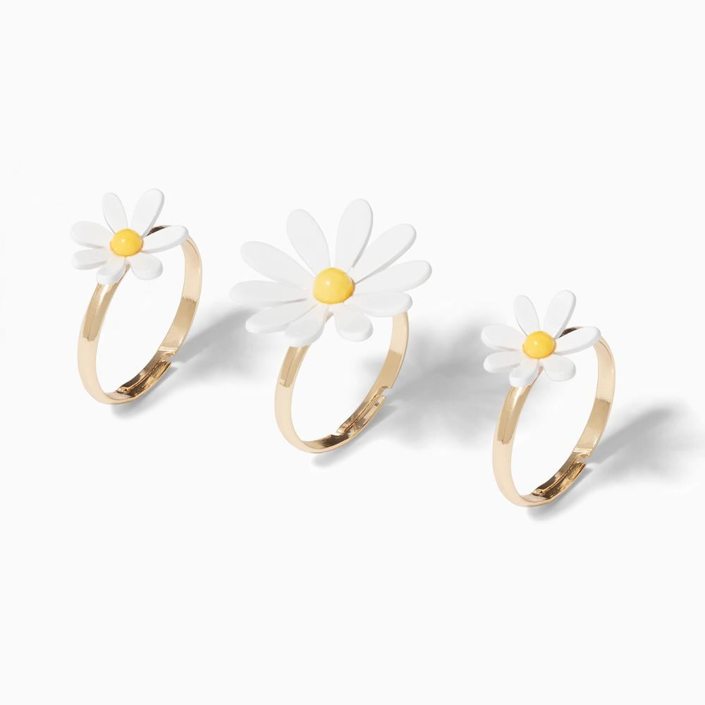 Everything's Coming Up Daisies Rings