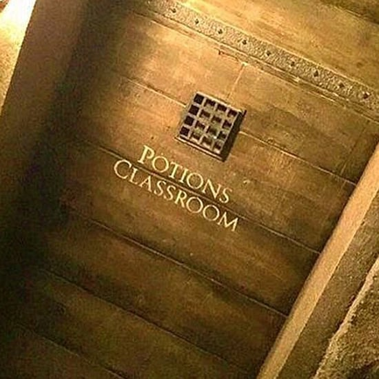 Lily Outside Potions Classroom Door