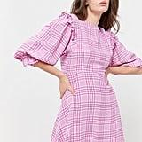 Faithfull The Brand Edwina Plaid Mini Dress