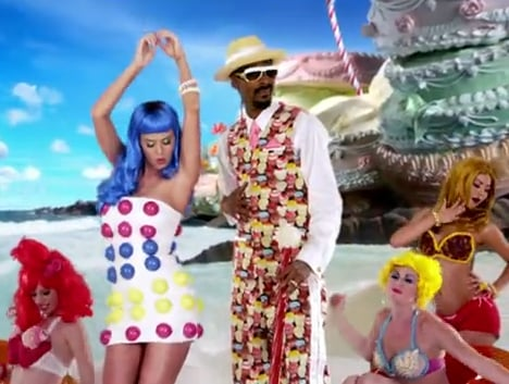 "Katy Perry ""California Gurls"" Style 2010-06-17 12:00:22"