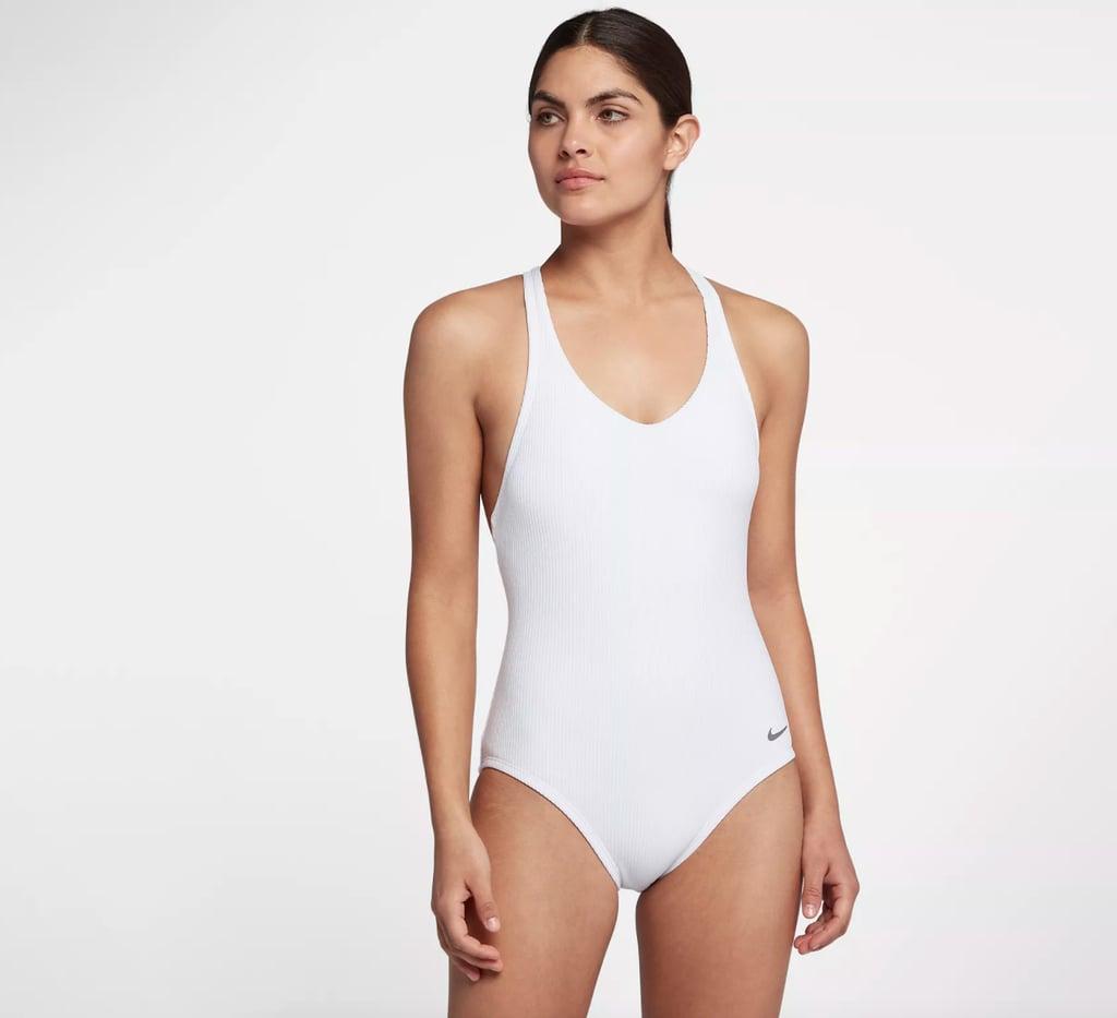 Nike Rib Racerback One-Piece Swimsuit