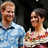 Prince Harry's Baby Quotes in Fiji October 2018