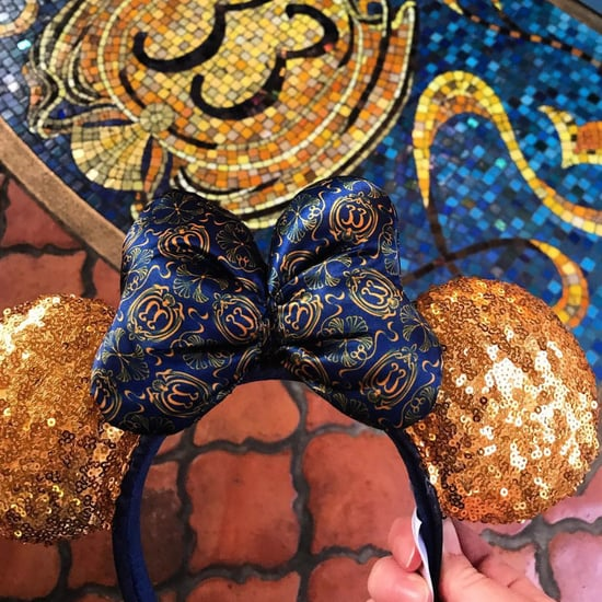 Disney Club 33 Sequin Minnie Mouse Ears
