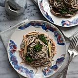 Spicy Tahini Soba Noodle Salad