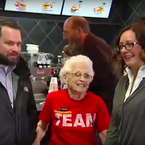 94-Year-Old Woman Working at McDonald's