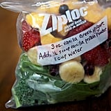 DIY smoothie freezer packs for the speediest breakfast.